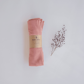 Lacey Lane Dusty Rose Baby Wrap