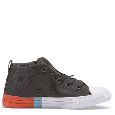 Converse Toddler Mid Street Tri Block Almost Black