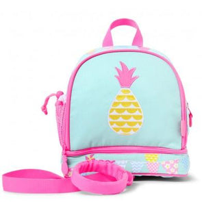 Penny Scallan Junior Backpack With Rein Pineapple Bunting