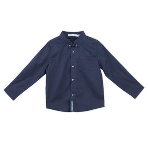 Jackson Long Sleeve Formal Shirt Navy