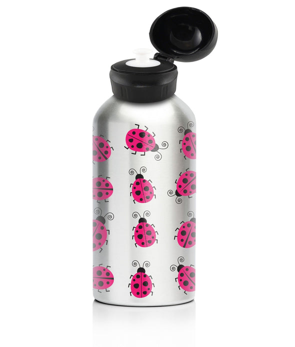 Lady Bug 400ml Stainless Steel Drink Bottle