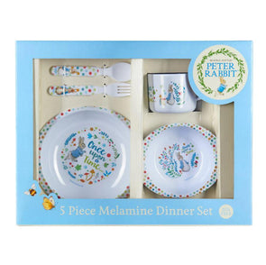 Peter Rabbit 5pc Dinner Set