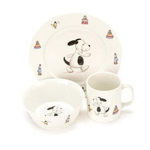Bashful Puppy China Dinner Set