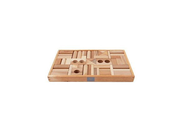 Wooden Story Blocks Natural 54 Piece Set