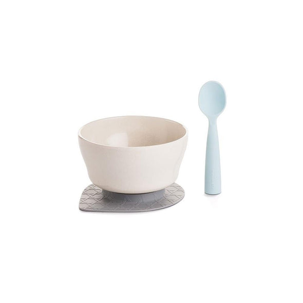 Bonnsu Miniware Cereal Bowl Set Natural Bamboo