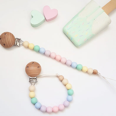 Basic Dummy Chain Pastel Rainbow