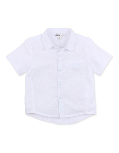Bebe Harry Linen Jersey Shirt