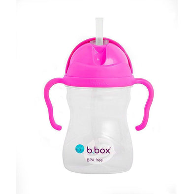 b.box Sippy Cup Pink Pomegranate