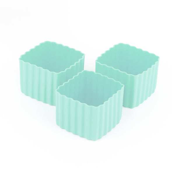 Bento Cups Square Mint