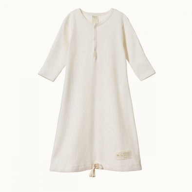 Nature Baby Cotton Sleeping Gown Natural