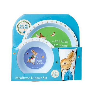 Peter Rabbit 3pc Dinner Set