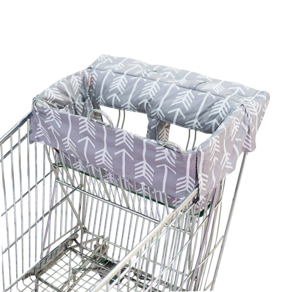 Bambella Designs Trolley Liner Grey Arrow