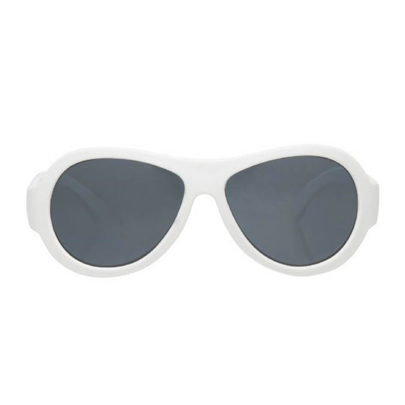 BabiatorsWicked White Aviators