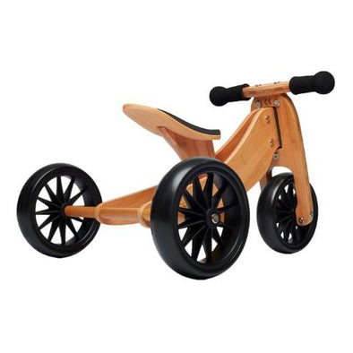 Tiny Tot 2 in 1 Balance Bike Bamboo