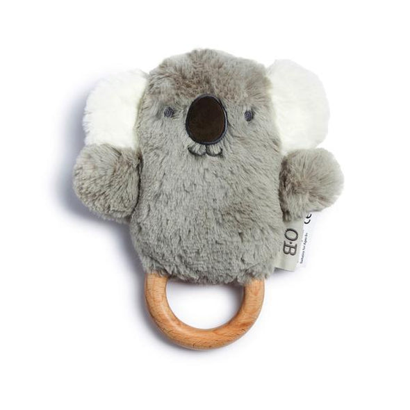 O.B. Designs Kelly Koala Wooden Teether