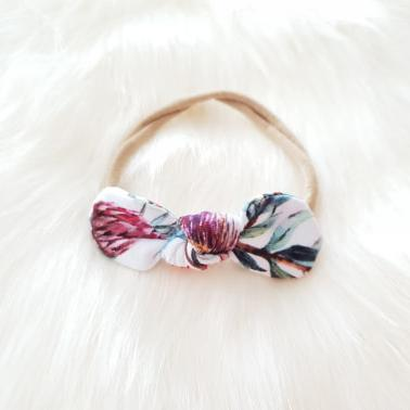 Protea Mini Bow Headband