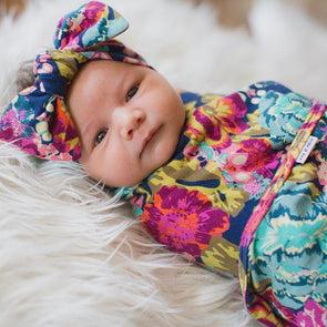 Rose Boho Swaddle Wrap