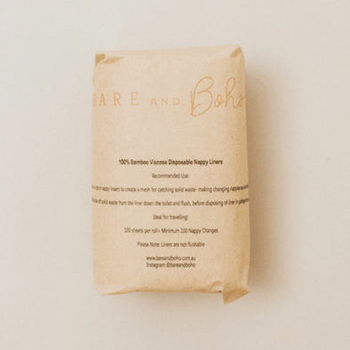 Bare & Boho Nappy Liners (Disposable)