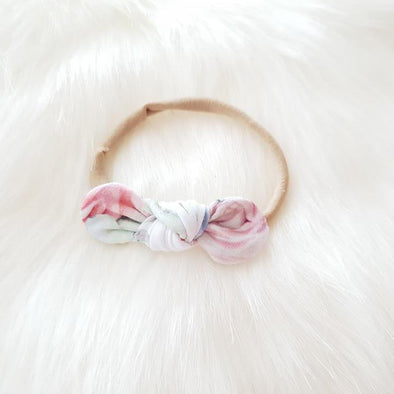 Succulent Mini Bow Headband