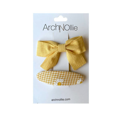 Arch N Ollie Pixie Clips Yellow
