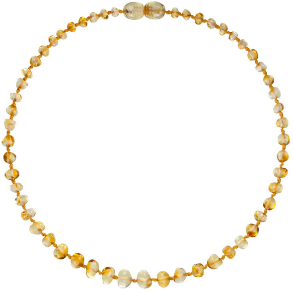 Amber Bud Necklace Lemon
