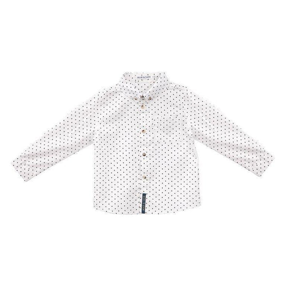 Hunter Arrow Print L/S Shirt White