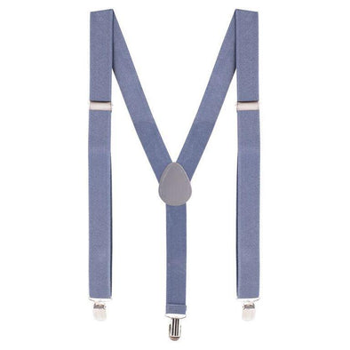 Bradley Suspenders Grey
