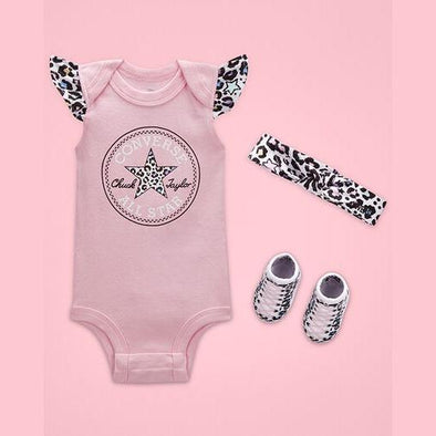 Converse Girls Cherry Blossom Flutter Set