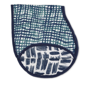 Silky Soft Burpy Bib Seaport