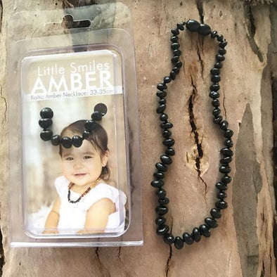 Amber Necklace 33-35cm Dark Cherry