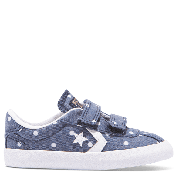 Converse Toddler Breakpoint 2V Polka Dot Navy