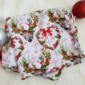 Christmas Deer Swaddle Wrap