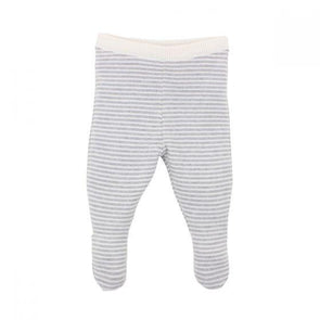 Bebe Stripe Leggings With Feet
