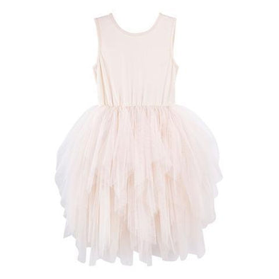 Melody Tulle Dress Beige