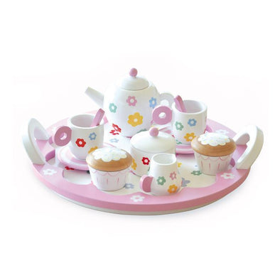 Flower Party Tea Set