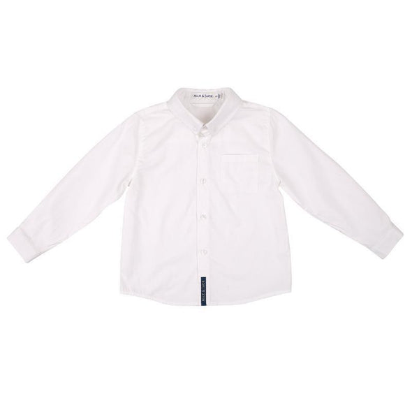 Jackson Long Sleeve Formal Shirt White