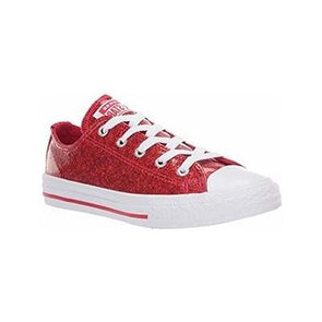 Converse Junior All Star Cherry Red Glitter