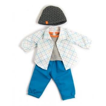 Miniland Clothing Blue Spring Set 38-42cm