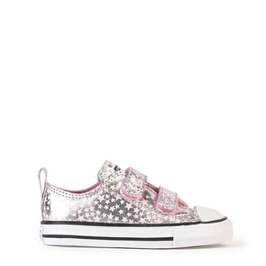 Converse Toddler 2V Low Top Pink Stars