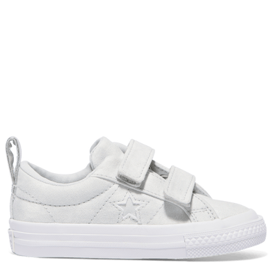 Converse Toddler One Star 2V Low Platinum