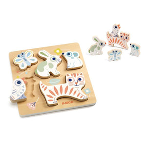 Baby Animali Wooden Puzzle