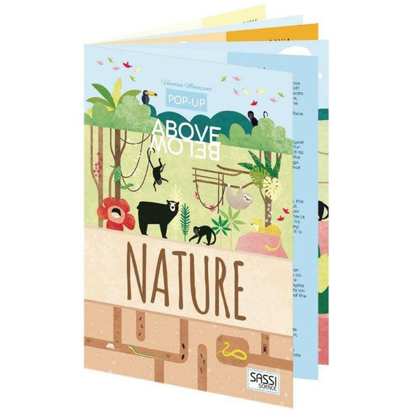 Above & Below Pop Up Book Nature
