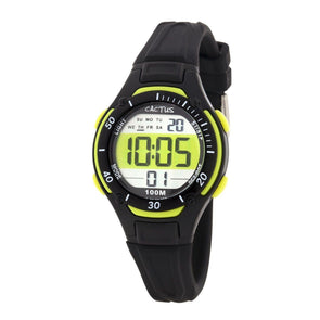 Wave Tech Digital Watch Black