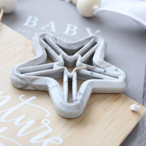 Shooting Star Silicone Teether Marble