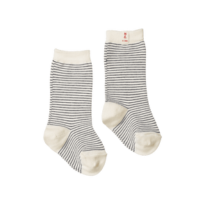 Nature Baby Organic Cotton Socks Navy Stripe