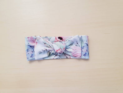 Succulent Bow Headband