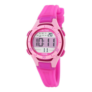 Wave Tech Digital Watch Pink