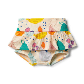 Wilson & Frenchy Ruffle Nappy Pant Fruit Loop