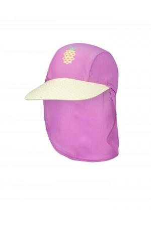 Pineapple Crush UPF50+ Swim Cap