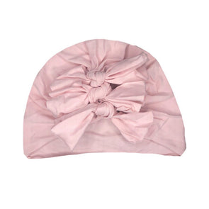 Arch N Ollie Silky Knot Turban Ballet Pink